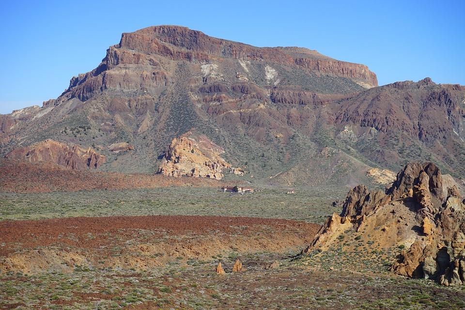 Guajara, Mountain, Lava, Rock, Roque De Garcia