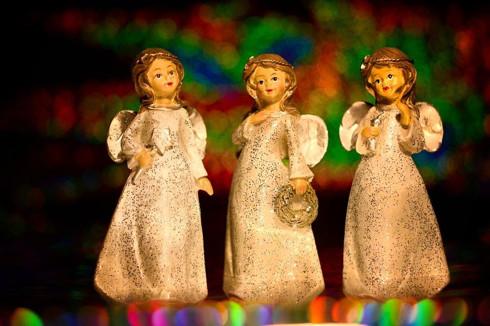 Angel, Christmas, Figure, Decoration, Guardian Angel