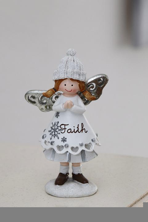 Angel, Figurine, Decoration, Guardian Angel, Faith
