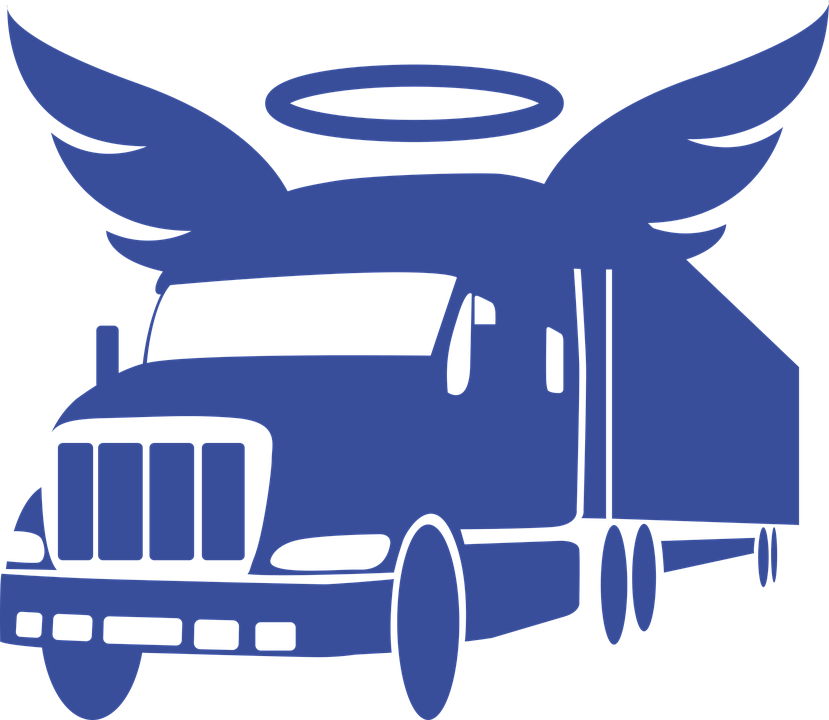 Angel, Wing, Guardian Angel, Protection, Truck
