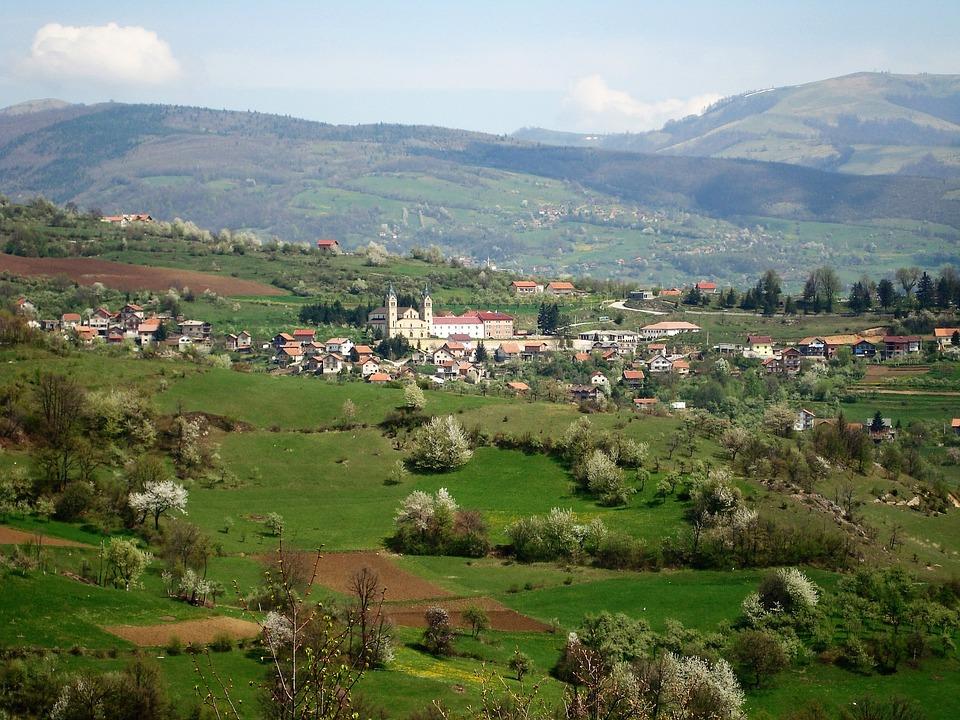 Guča Gora, Bosna, Panorama