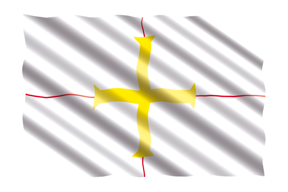 International, Flag, Guernsey