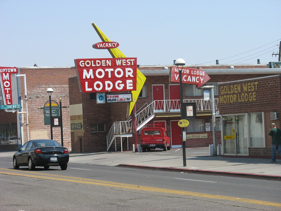 Guesthouses, Motels, Reno, Retro, Motor Lodge