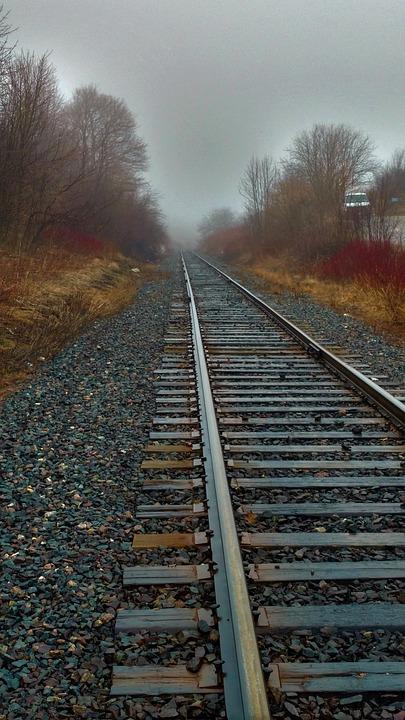 Railway, Railroad Track, Locomotive, Track, Guidance