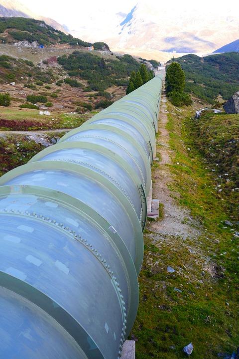 Pressure Water Line, Tube, Pipeline, Water, Guide