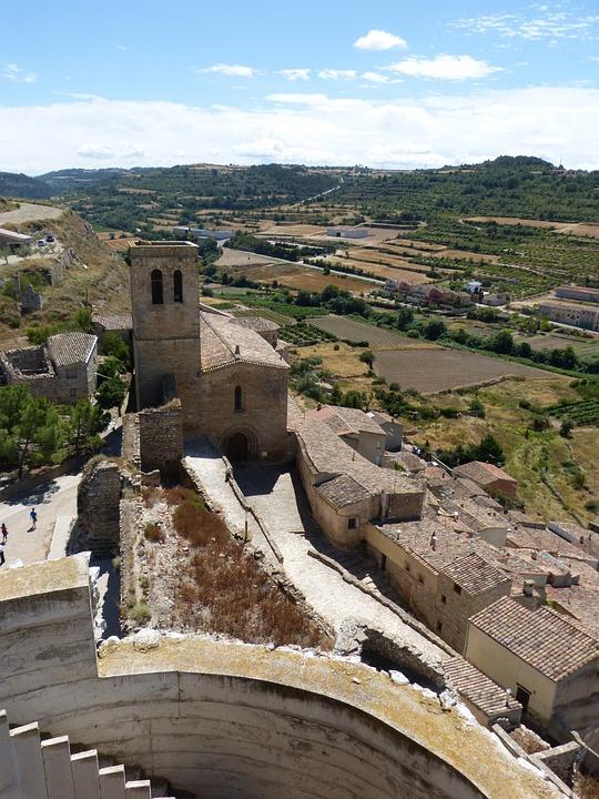 Church, Medieval, Romanesque, Guimerà, Architecture