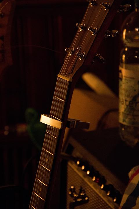 Music, Guitar, Amplifier
