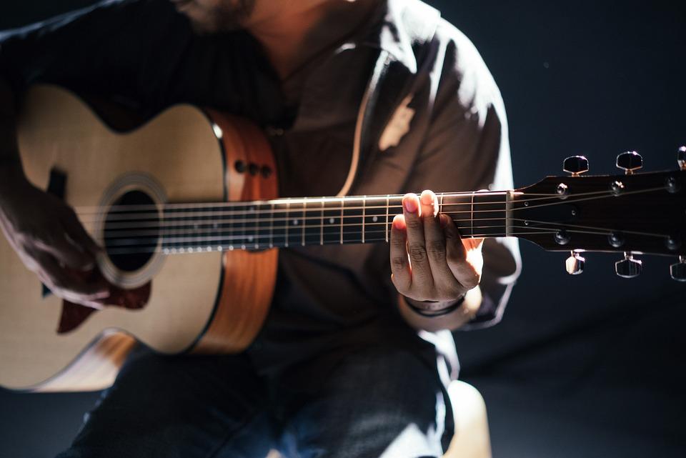 Acoustic, Band, Guitar, Guitarist, Instrument, Man