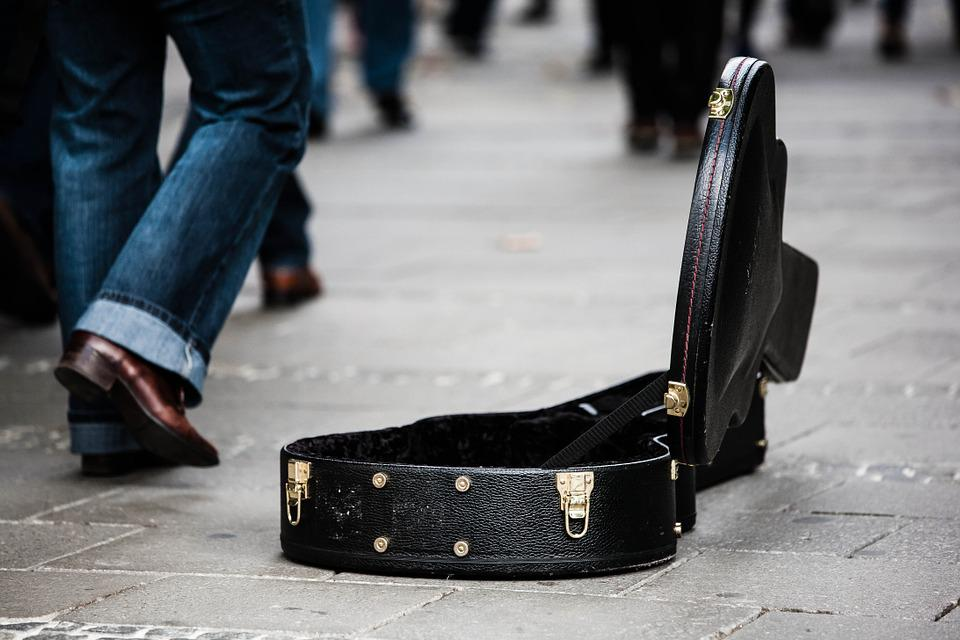 Guitar Case, Street Musicians, Donate, Donation