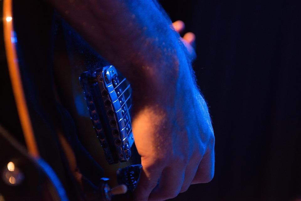 Guitar, Closeup, Rock, Musician, Electric, Play, Hand