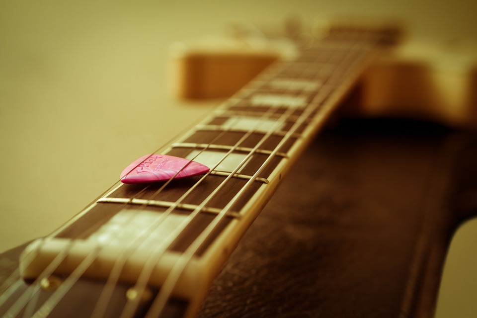 Guitar, Guitar Pick, Electric Guitar, Strings, Saddle