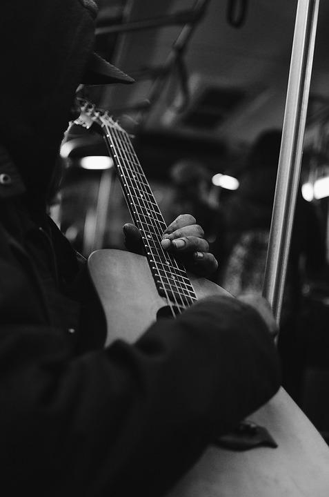 Guitar, Guitarist, Musician, Man, Guitar Player