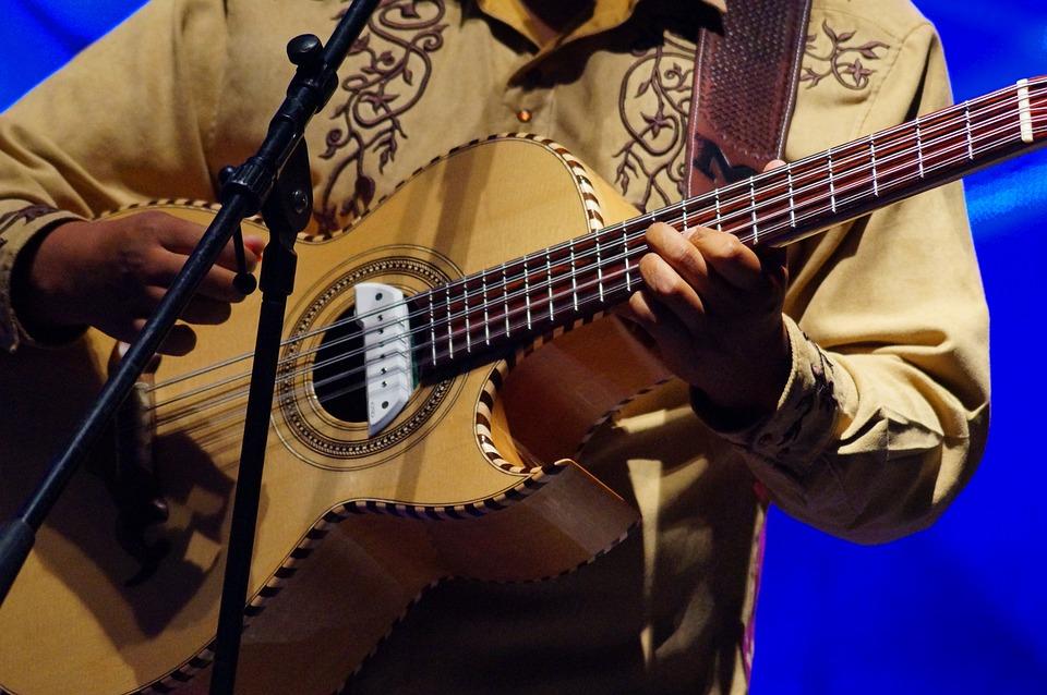 Guitar, Musician, Ropes