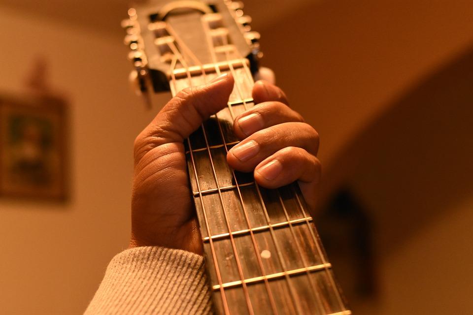 Guitar, Music, Wood, People