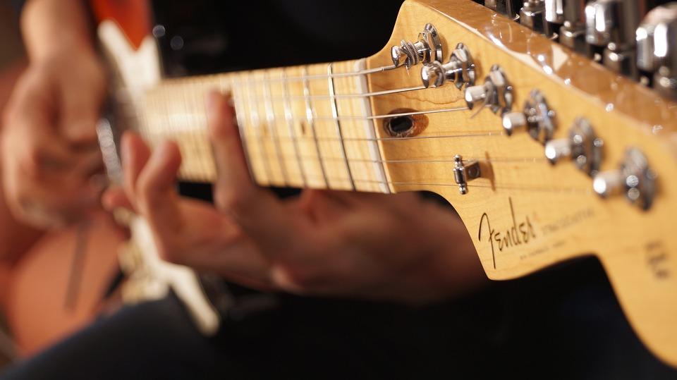 Fender, Stratocaster, Guitar, Player, Guitar Player