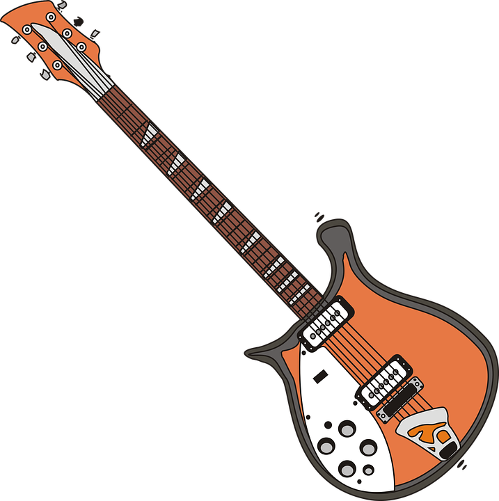 Electric Guitar, Guitar, Music, Playing