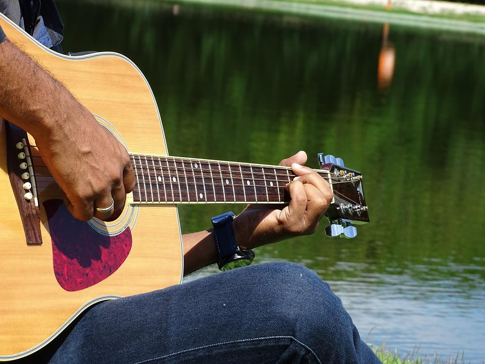 Pay For Water, Guitar, Music, Sound, Instrument