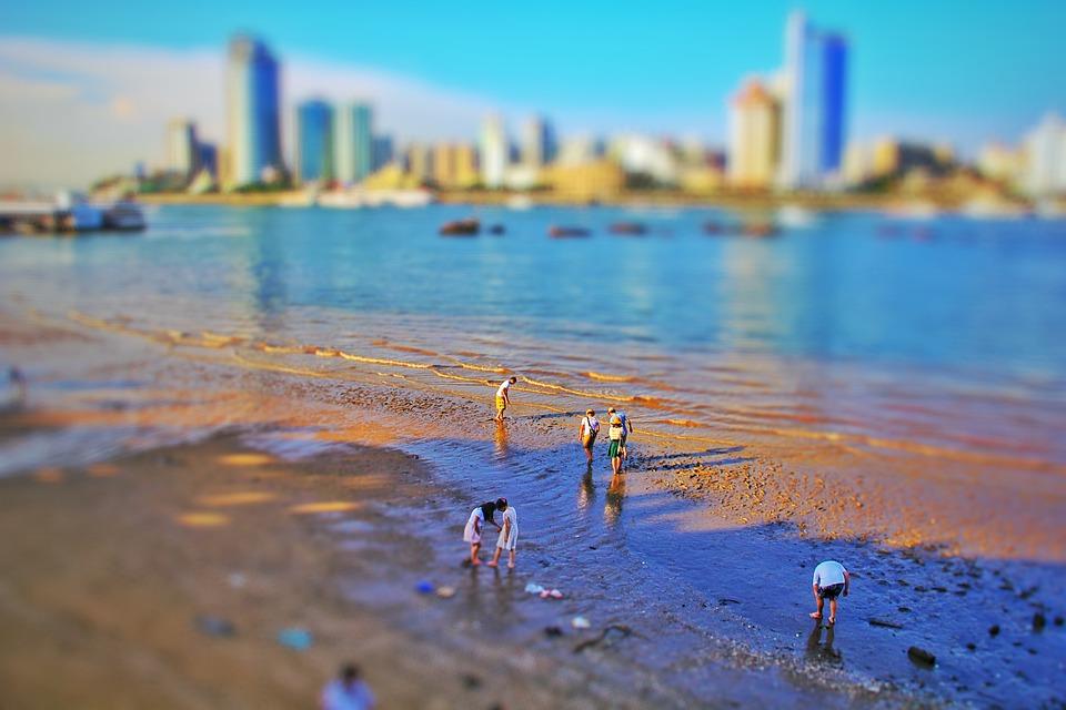 Toy Camera, Island, Shift, Gulangyu Island, Beach
