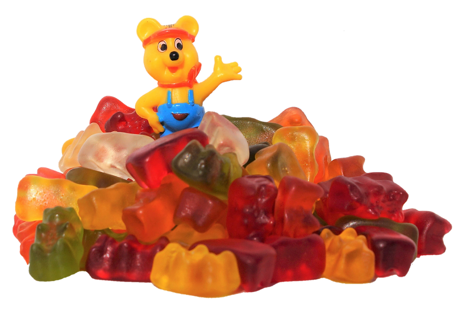 Haribo, Gummibärchen, Gummi Bears, Fruit Jelly, Candy