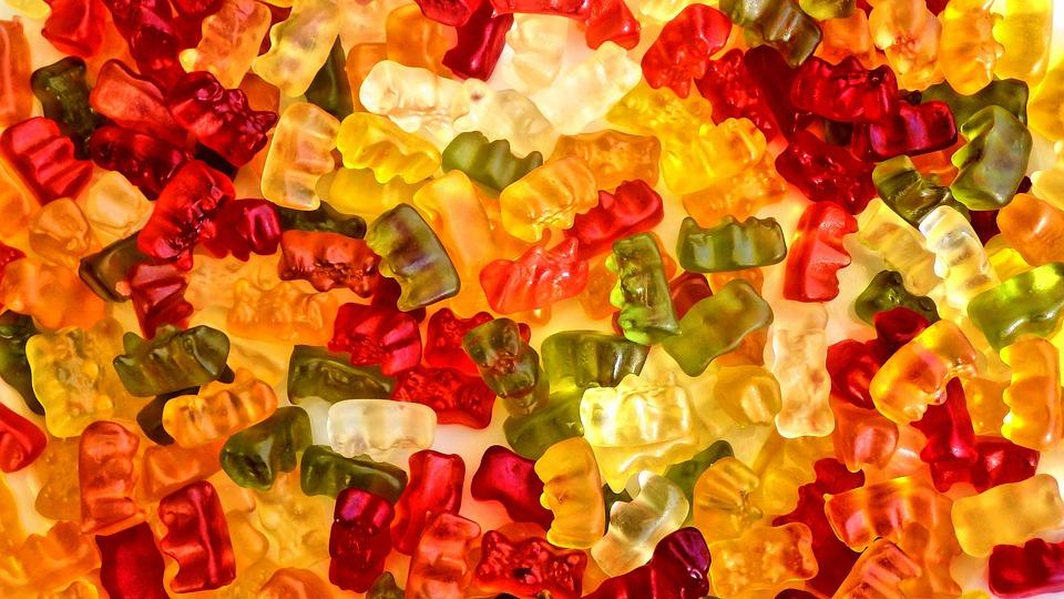 Gummibärchen, Colorful, Children, Sweetness