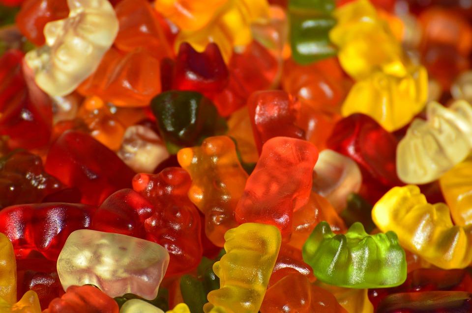 Gummibär, Gummibärchen, Fruit Gums, Bear, Delicious