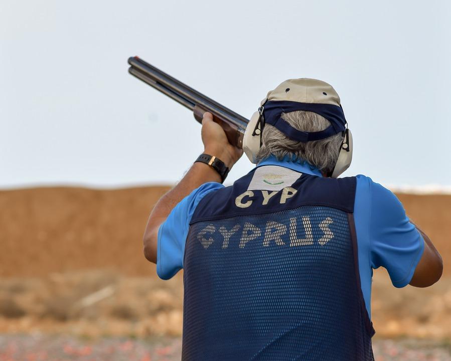Shooting, Sport, Shoot, Competition, Man, Aiming, Gun
