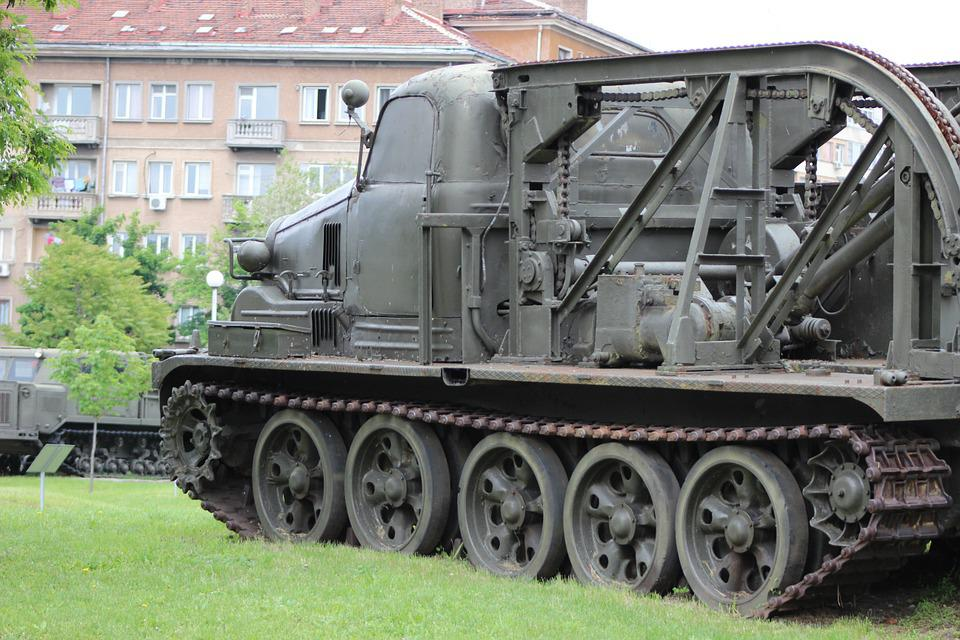 Tank, Military, Army, Gun