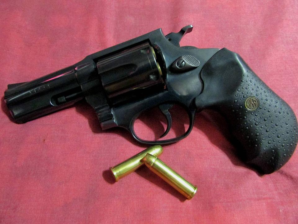 Gun, Bullets, Weapon, Pistol, Bullet, Handgun