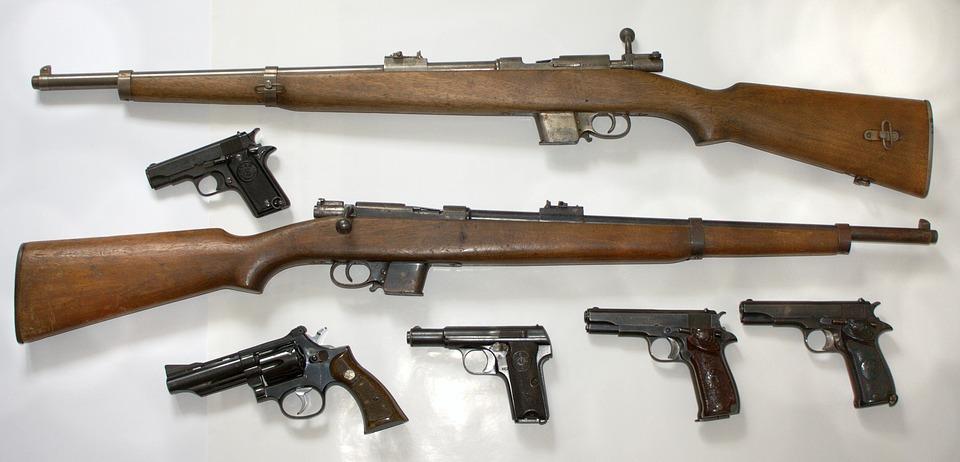 Weapons, Gun, Stir