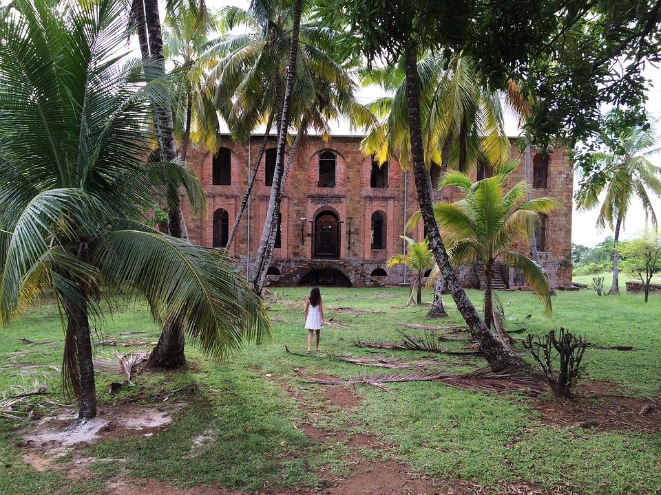 Colonial, Jungle, Guyana, Woman, Has Abandoned