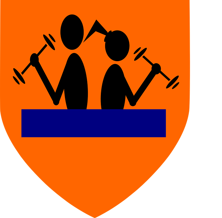 Exercise, Gym, Logo