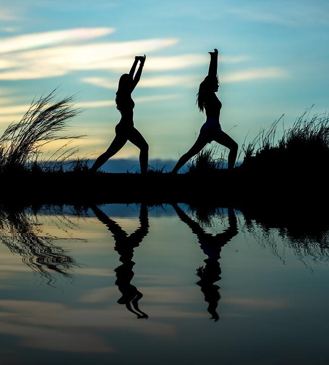 Yoga, Adult, Asia, Exercise, Girl, Gymnastic