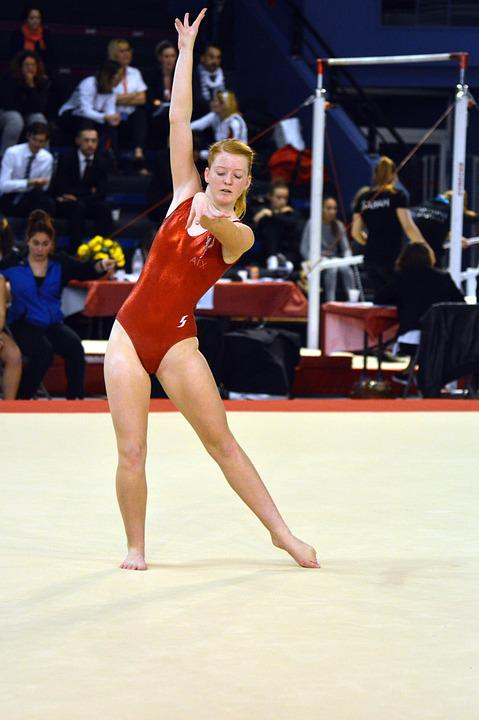 Competition Gymnastics Carpet Sport Concentration