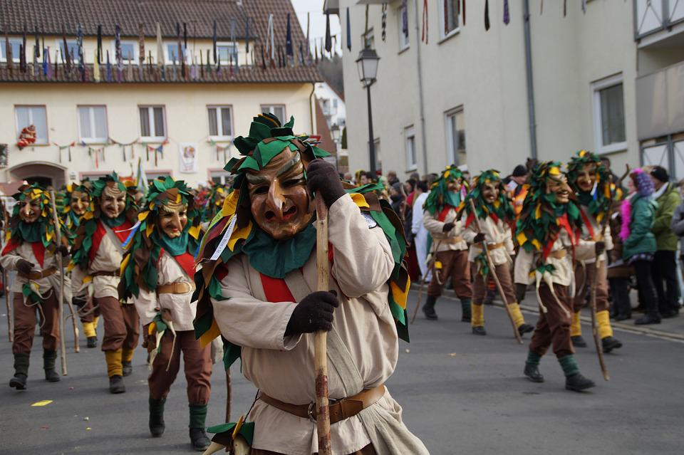 Fool, Haestraeger, Figure, Carnival, Fools Jump, Panel