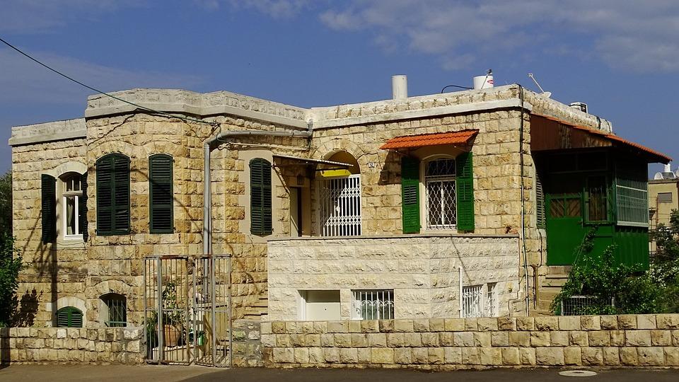Israel, Haifa, Building