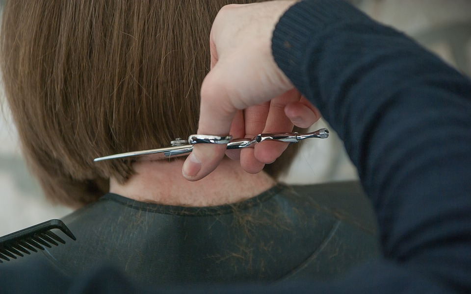 Hairdresser, Scissors, Hair Cut