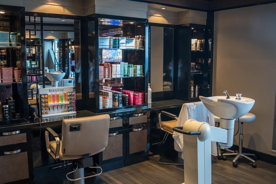 Beauty Salon Hair Dresser Table Furniture Indoors