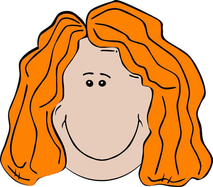 Girl, Face, Head, Brown, Female, Child, Hair