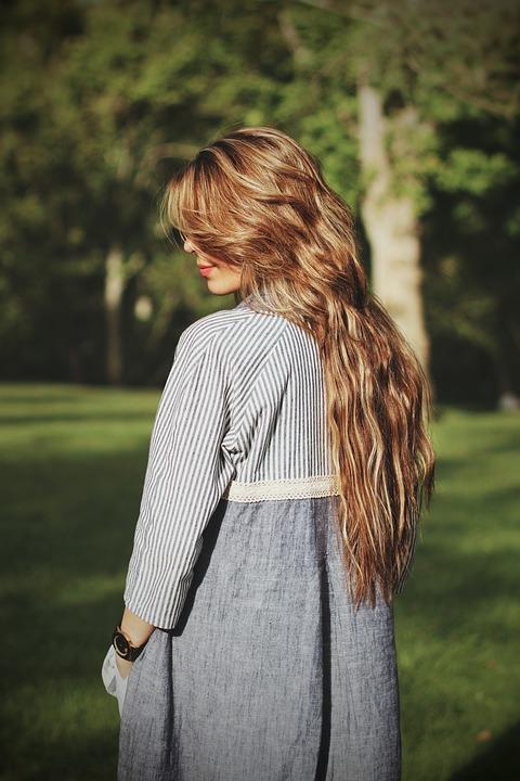 People, Woman, Girl, Hair, Outdoor, Green, Grass