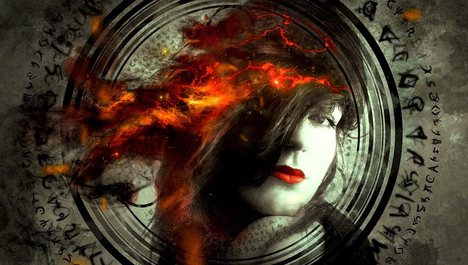 Free Photo Hair Portrait Symbol Fantasy Light Fire Woman Max Pixel