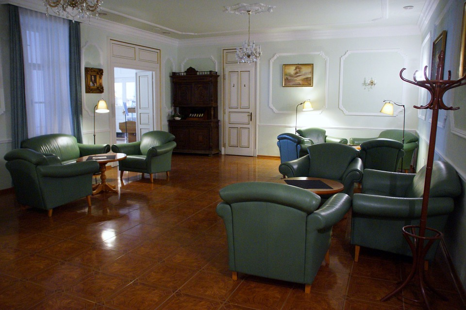 Cozy, Room, Hall, Chair, Living-room, Pension, Empty