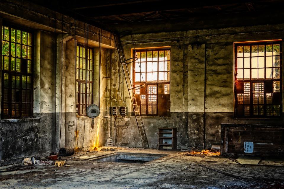 Workshop, Hall, Maintenance, Lost Places, Work, Leave