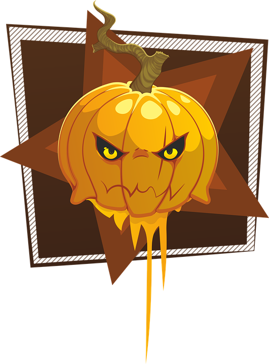 Hallloween, Vector, Pumpkin, Halloween, Orange, October