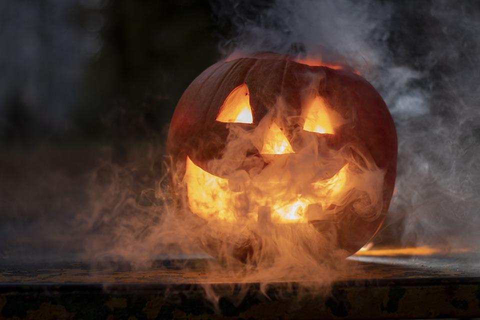 Halloween, Smoke, Dark, Spooky, Creepy, Fantasy, Evil