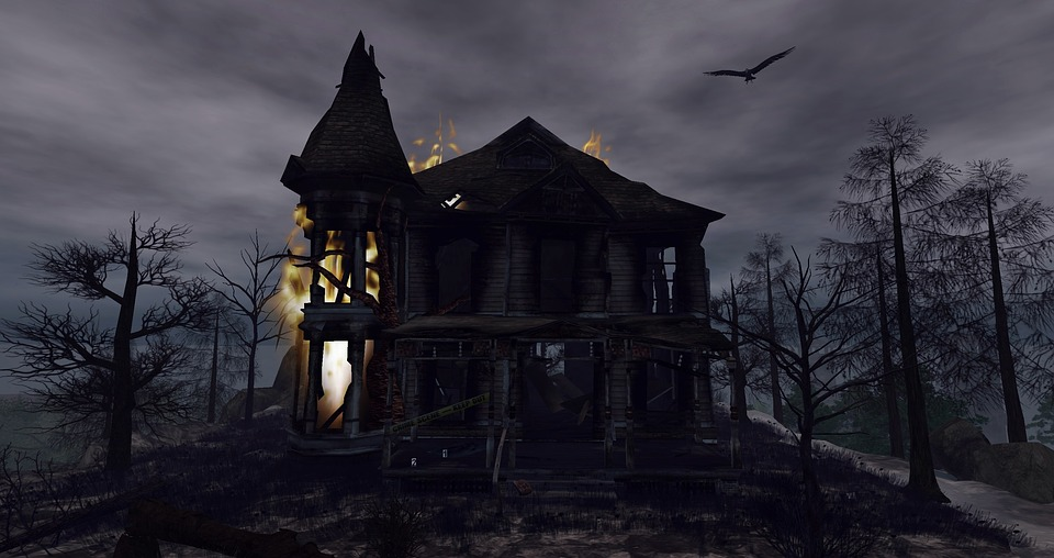 fantasy halloween creepy gloomy home darkness