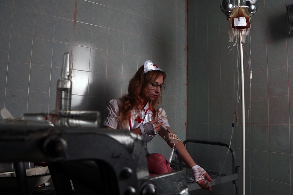 Nurse, Hospital, Halloween, Doctor, Treatment, Medic