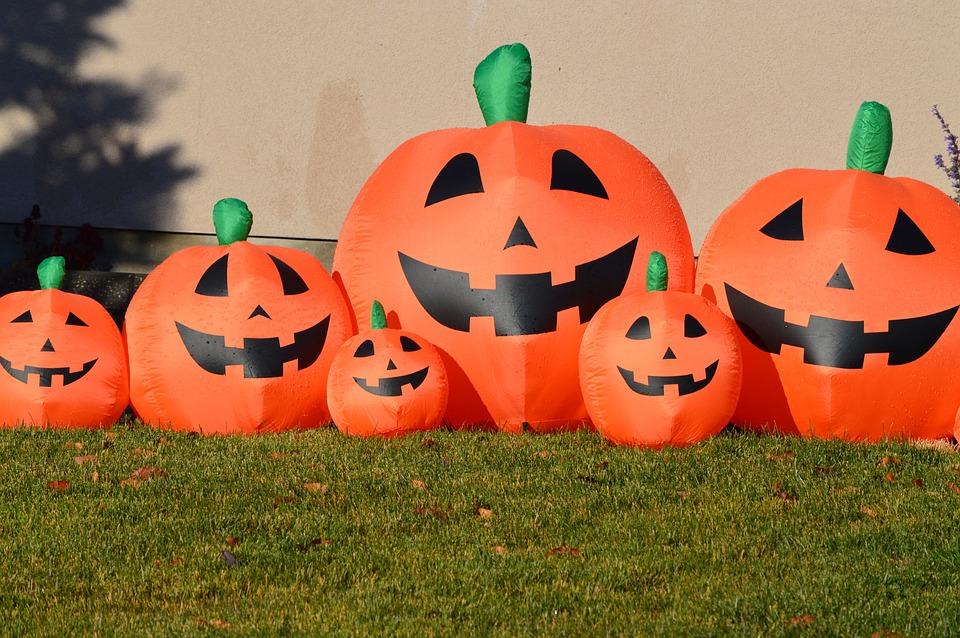 Pumpkins, Jack-o-lantern, Halloween, October