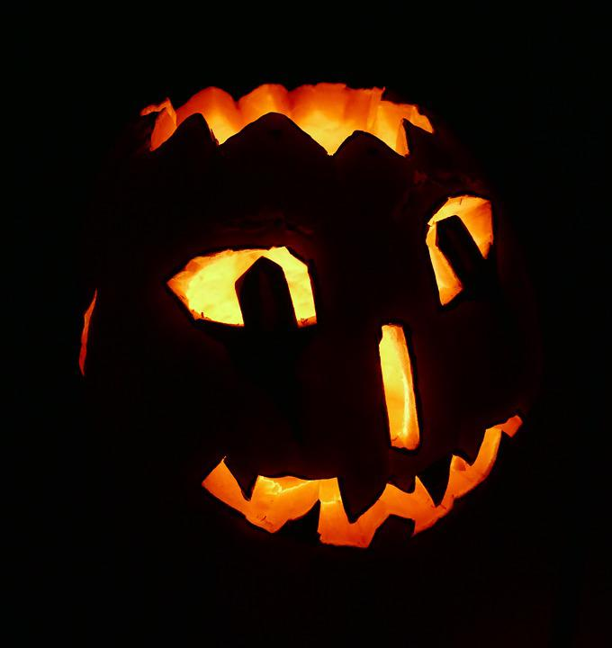 Halloween, Pumpkin, Carve, Faces, Pumpkin Decoration
