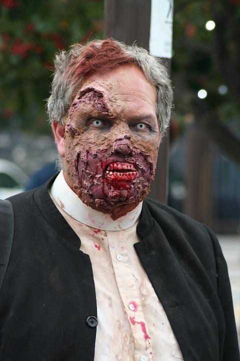 Zombie, Zombie Walk, Halloween, Horror, Undead, Monster