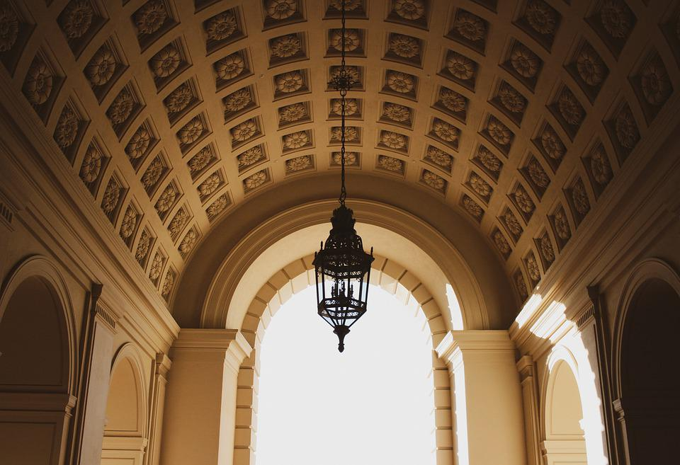 Arches, Building, Tunnel, Hallway, Gothic, Architecture